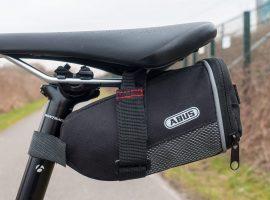 ABUS zadeltasjes, handig voor onderweg