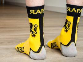 R°afa'l Carbon sokken functioneel én leuk