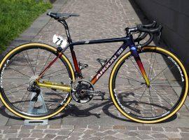 Custom gespoten Argon 18 Gallium Pro voor Astana's Miguel Angel Lopez