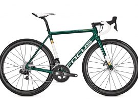 Focus Izalco Max Disc eTap is mooi in glossy groen