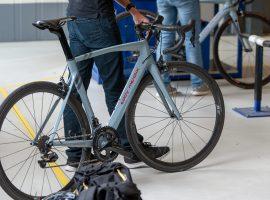 Bij Merckx.cc hebben ze nu ook hun nieuwe fiets