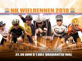 Het NK wielrennen van 2018 op TV