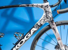 Tattoo artwork op Limited Koga voor Olympische baanselectie