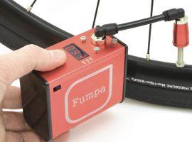 Elektrisch banden oppompen met Fumpa