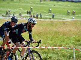 Modderhappen met Rapha tijdens het EK Cyclocross in Rosmalen
