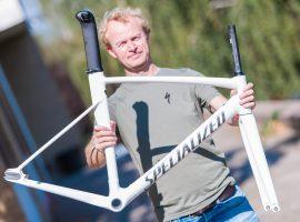 Specialized Allez Track frameset voor de baanwielrenners