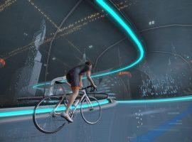 Zwift voegt futuristisch New York toe als fietsomgeving