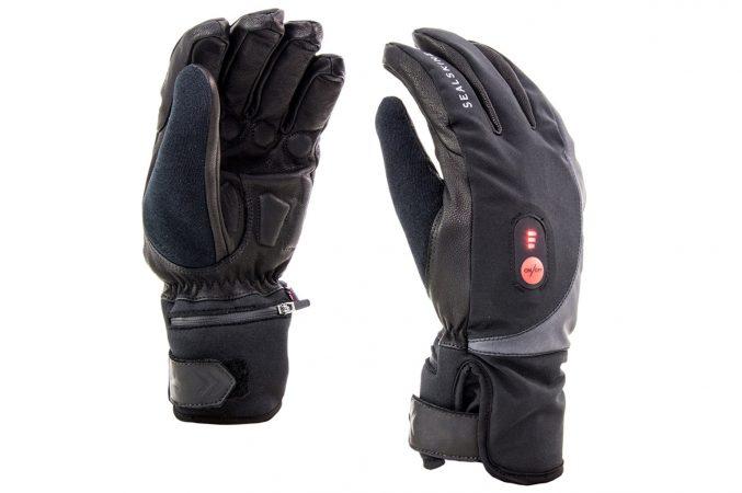 Verwarmde handschoenen van Sealskinz