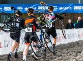 Rapha Modderhappen 2018 op het EK parcours in Rosmalen