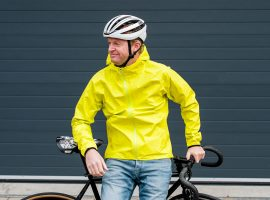 Review: Rapha Commuter Jacket voor in de regen