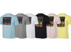 Reynolds staal logo op je t-shirt
