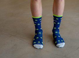 R°afa'l Carbon sokken met een biertje