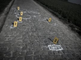 Dé val van Sagan als crime scene