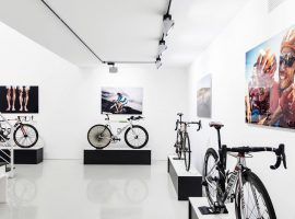 Canyon's House of Champions tijdens de Tour in Brussel