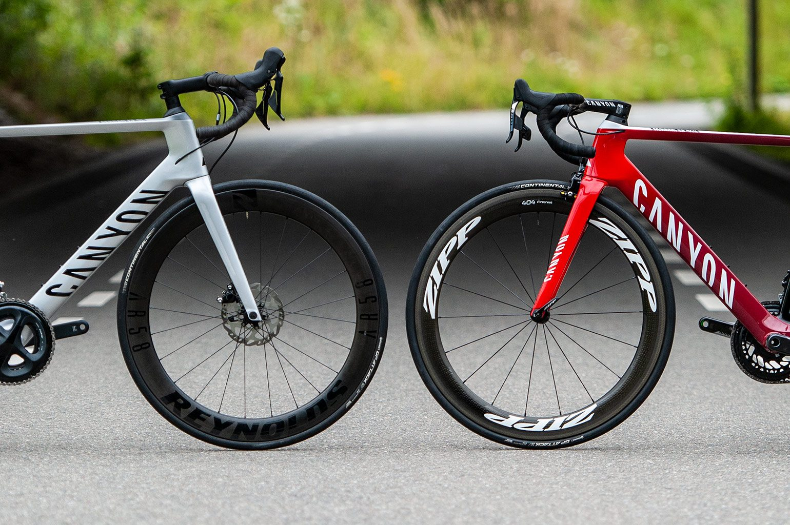 Canyon Aeroad CF SL 7.0 vs Canyon Aeroad CF SLX 9.0 SL