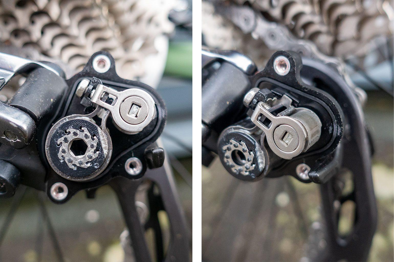 Shimano GRX clutch opengemaakt // Racefietsblog.nl