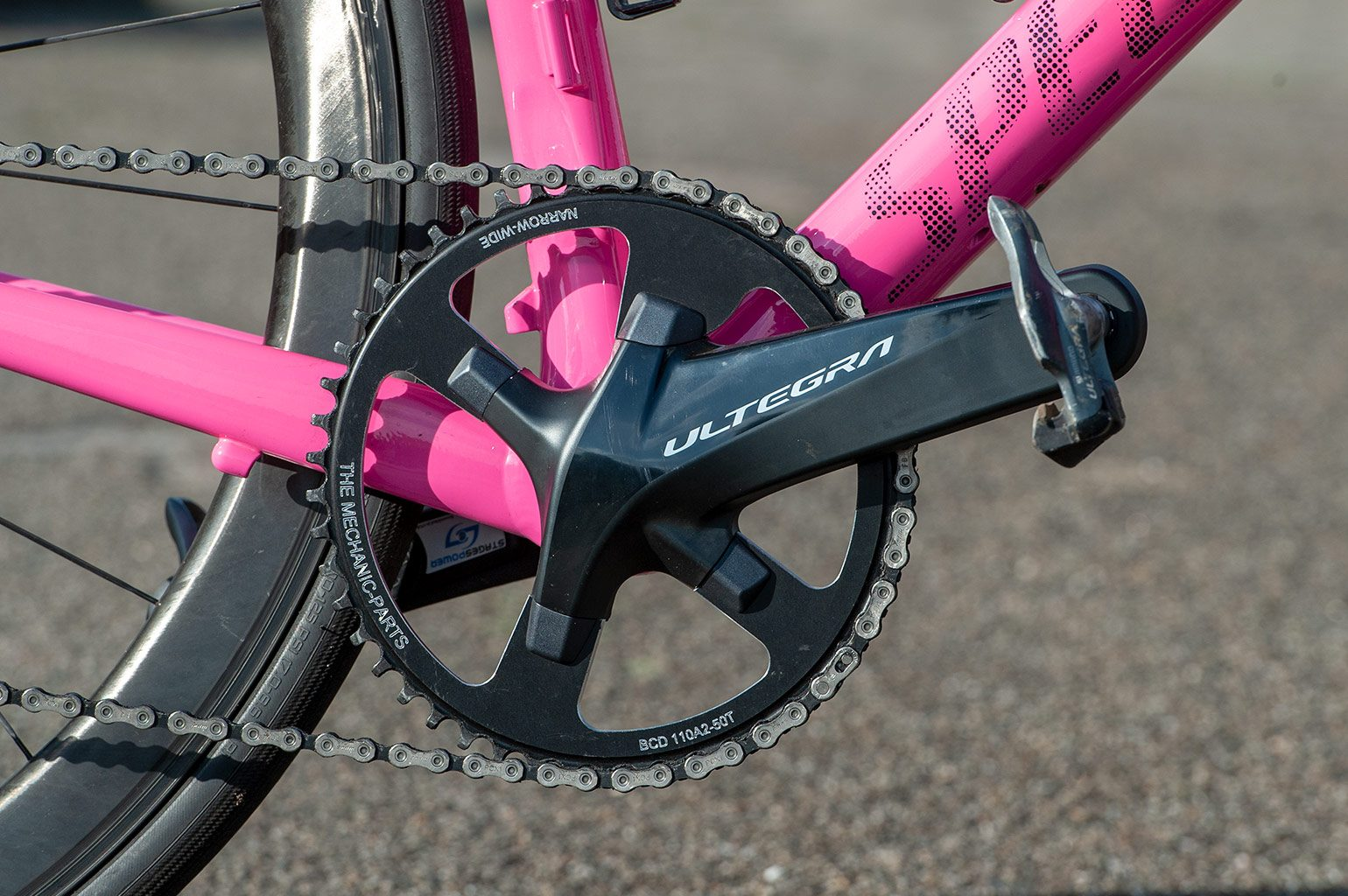 Ultregra 50T narrow wide The Mechanic Parts chainring
