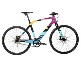 Coh & IRIS veilen recyclebare fiets voor goed doel