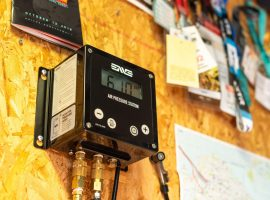 Met één druk op de knop je band oppompen met Enve's Air Pressure Station