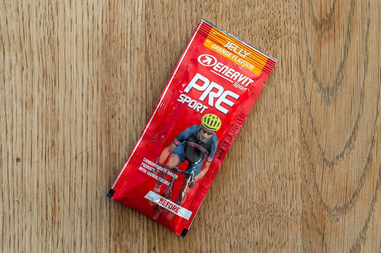 Enervit Pre Sport jelly verpakking