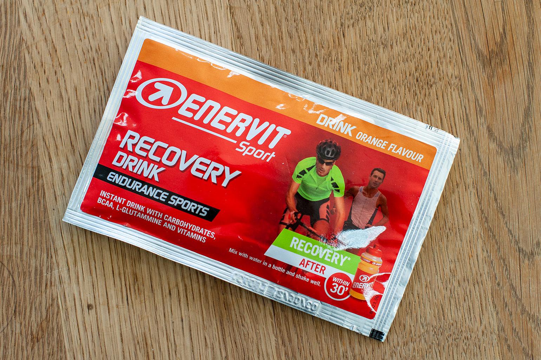 Enervit recovery drink verpakking