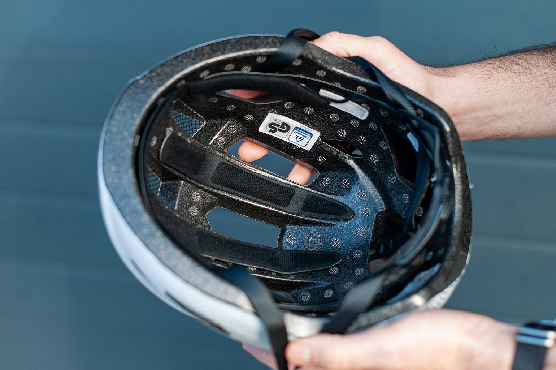 ABUS Macator helm binnenkant