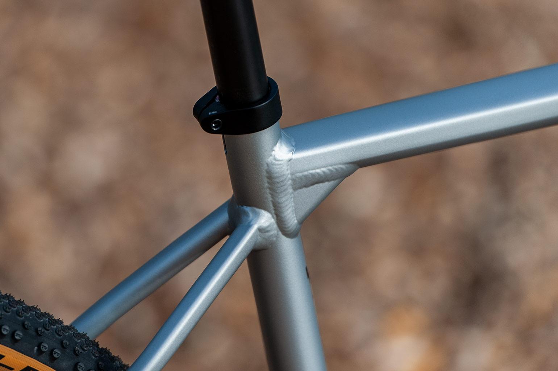 aluminium lasnaden van de Canyon Grail AL 7.0 SL