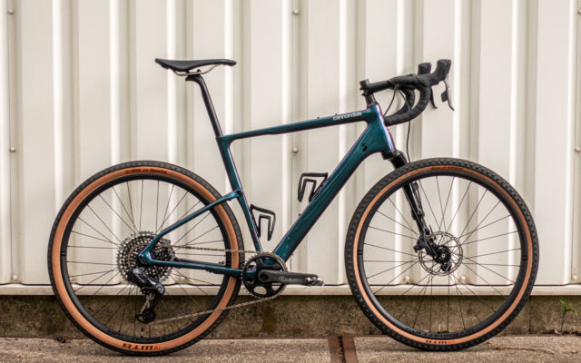Eerste indruk: Cannondale Topstone Carbon Lefty, de full suspension gravelbike
