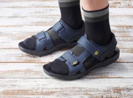 De sandaal met SPD van Shimano bestaat 25 jaar