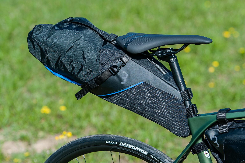 BBB seat sidekick zadeltas voor bikepacking