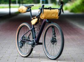 Review: Bikepacken met de Evoc serie tassenset
