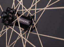Pi Rope wielen met spaken van touw