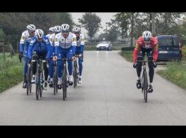 Meekijken met Deceuninck-Quickstep tijdens de Ronde – video