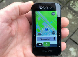 Review: Bryton Rider 750 GPS fietscomputer