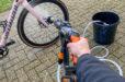 Eerste indruk: Overal je fiets wassen met een Worx Hydroshot