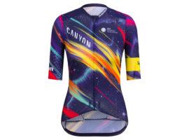 Rapha ontwerpt een buitenaardse outfit voor Canyon//SRAM
