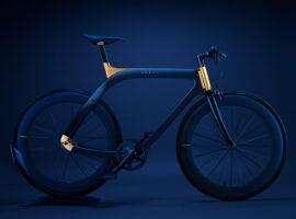 De Akhal Sheen is een fiets met 24K goud
