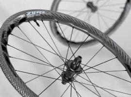 Nieuwe Zipp 353 NSW wielen en Zipp G40 XPLR banden