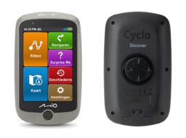 De nieuwe Mio Cyclo Discover Connect met reisgids