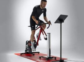 Op en neer met de nieuwe Elite Rizer fietstrainer